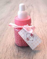 papfles baby roze badkaviaar cadeau babyshower